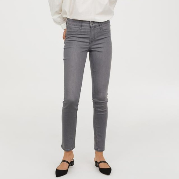 H&M Denim - Gray Skinny Jeans